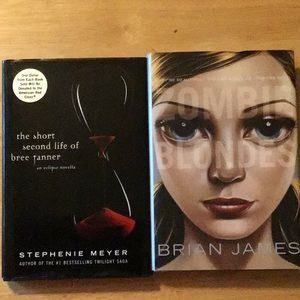 2 books 4 price of 1: Zombie Blondes & S Meyer